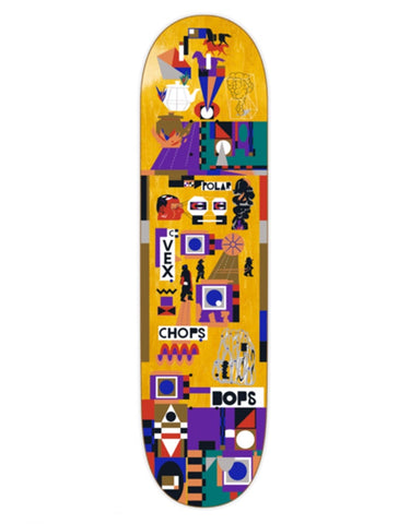 Polar Special Operators Team Skateboard Deck | 8.0""