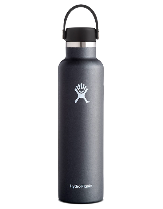 Hyrdo Flask 24oz Standard Mouth Black
