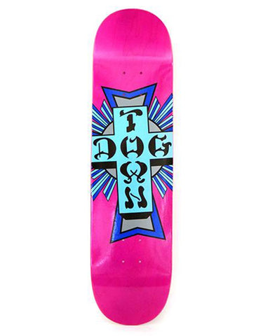 Dogtown Street Cross Logo Deck | Purple/Blue 8.0""