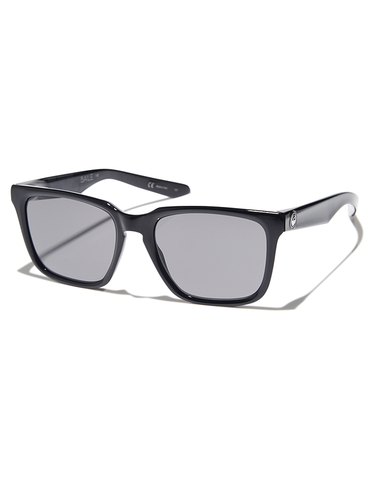 Dragon Baile Sunglasses Shiny Black/Grey Lens