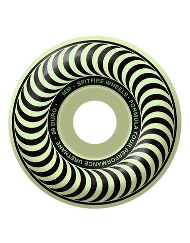Spitfire F4 Wheels 52mm/99D | Staylit Glow