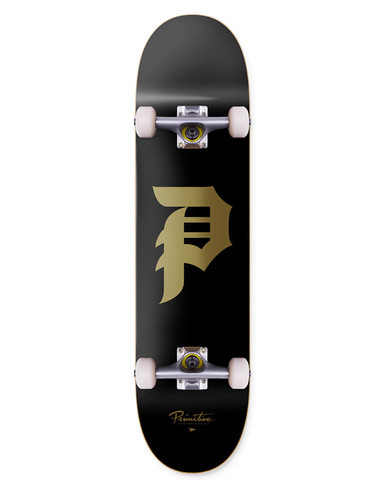 Primitive Dirty P Complete Black/Gold | 7.625""