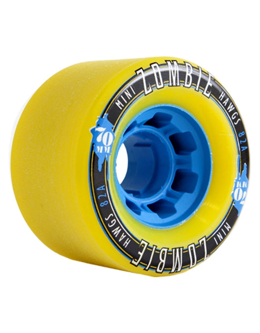 Hawgs Mini Zombies Wheels Yellow | 70mm/82a