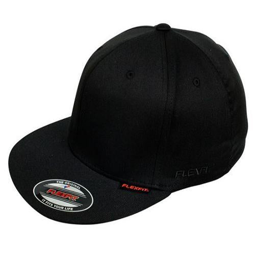 FlexFit Pro Baseball Youth Cap | Black