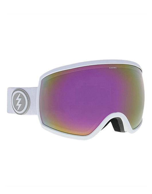 Electric EGG Goggle Matte White | Brose/Pink Chrome