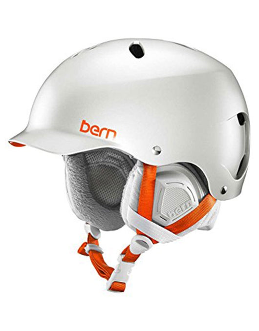 Bern Lenox Snow Crank Fit Helmet Satin Delphin Grey