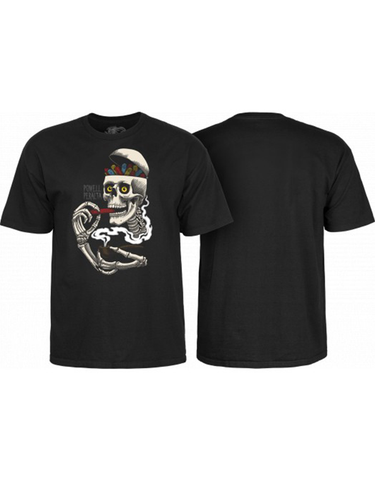 Powell Curb Skelly Tee Black