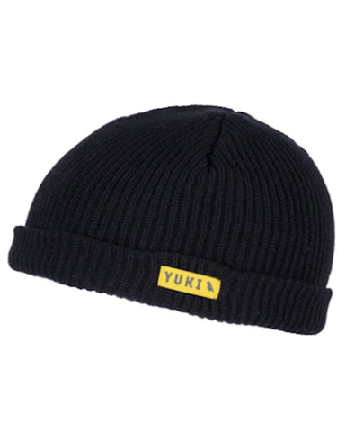 Yuki Threads Fishermans Beanie | Black