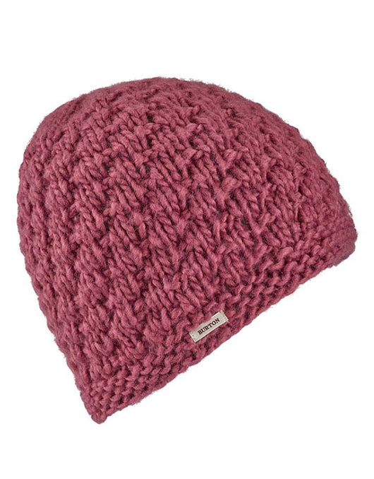 Burton Women's Big Bertha Beanie | Rose Brown