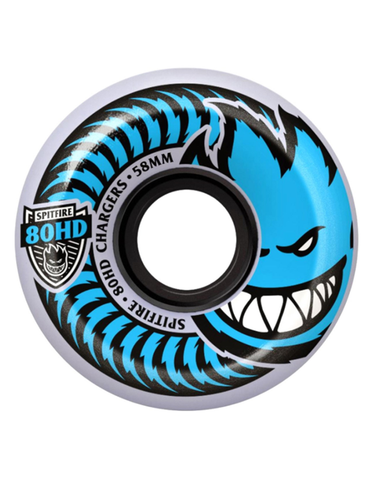 Spitfire Charger Conical Wheels 54mm/80a | Clear