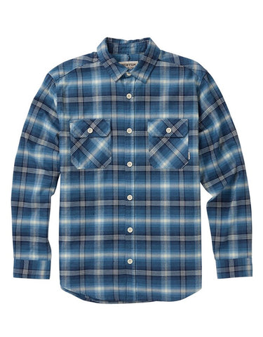 Burton Brighton Flannel | Mood Indigo Pne Plaid