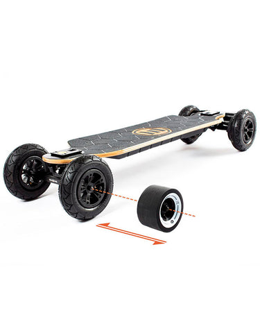 Evolve Bamboo GTX Electric Skateboard | 2 in 1