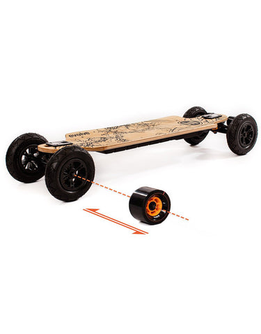 Evolve Bamboo GT 2 in 1 Electric Skateboard