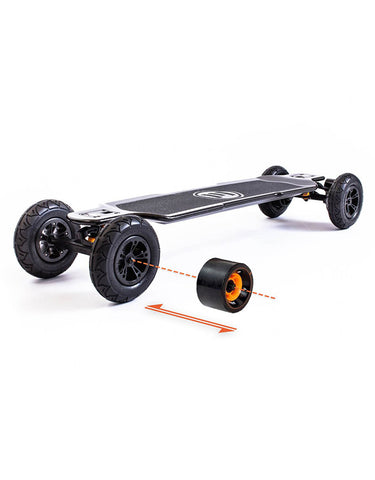 Evolve Carbon GT Electric Skateboard | 2 in 1