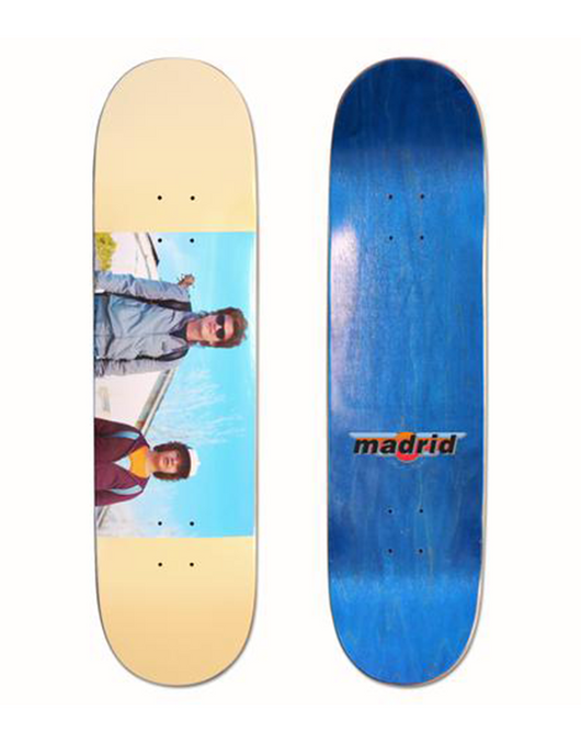 Madrid x Stranger Things 2 Deck Steve & Dustin 8.5""