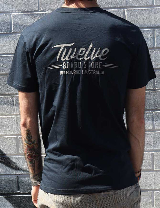 Twelve Melbs Staple Tee | Navy