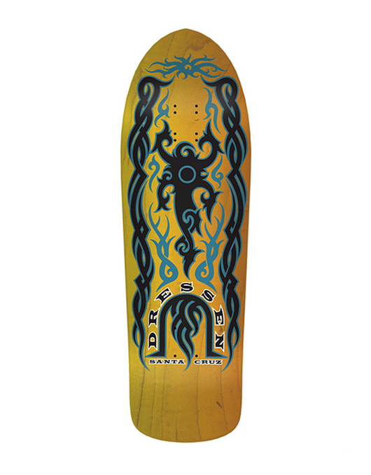 Santa Cruz Dressen Tribal Skate Deck | 9.9""