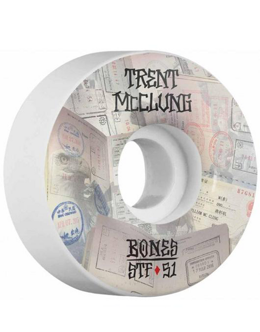 Bones STF Wheels 53mm/103a | McClung