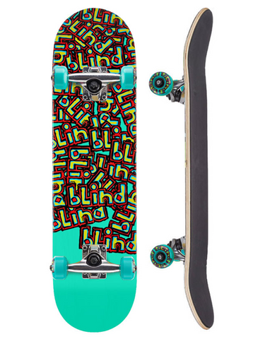Blind Letter Drop Youth Complete Skateboard | 6.5""