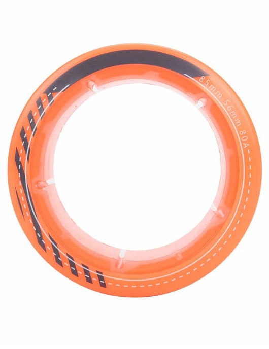 ExWay Rear Wheel Rubber | 85mm Orange