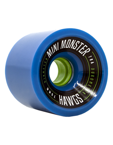 Hawgs Mini Monsters Wheels Blue | 70mm/78A
