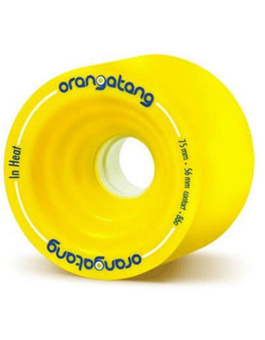 Orangatang In Heat Wheels 75mm/86a | Yellow