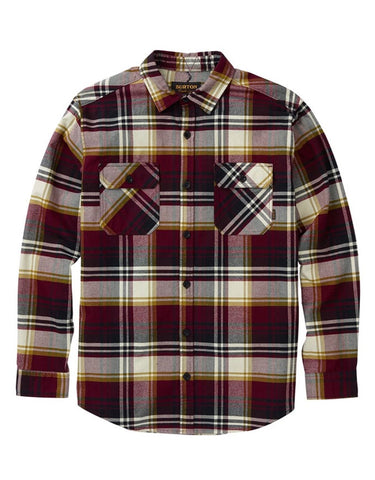 Burton Brighton Flannel | Port Royal Stump Plaid