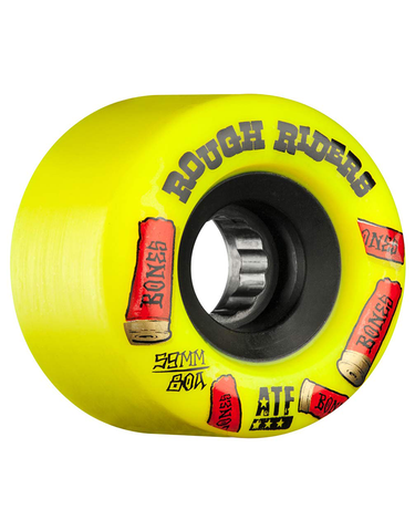 Bones ATF Rough Riders Yellow Wheels 56mm 80a