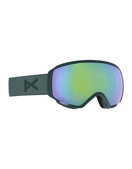 Anon WM1 Goggle Grey/Sonar Green +SPR