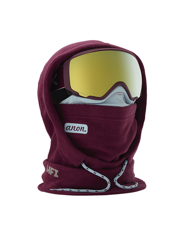 Anon MFI XL Hooded Womens Balaclava Purple