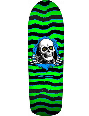 Powell Peralta Old School Ripper Deck Green/Black | 10""
