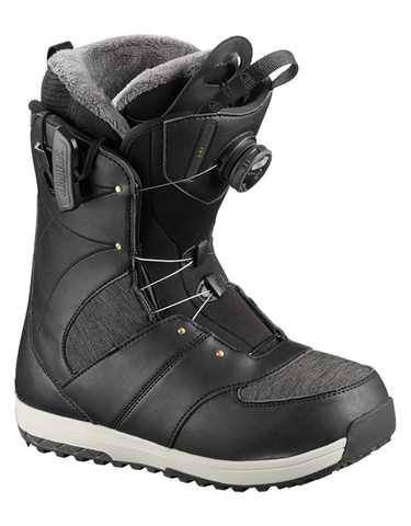Salomon Ivy Boa SJ Snowboard Boot Black | 2019