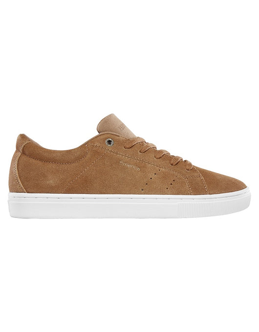 Emerica Americana Shoe | Tan/White