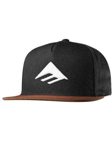 Emerica Triangle Snapback Cap Blk/Brown