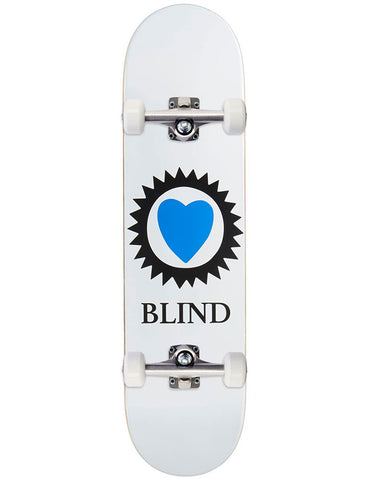 Blind Heart Complete White | 8.25""