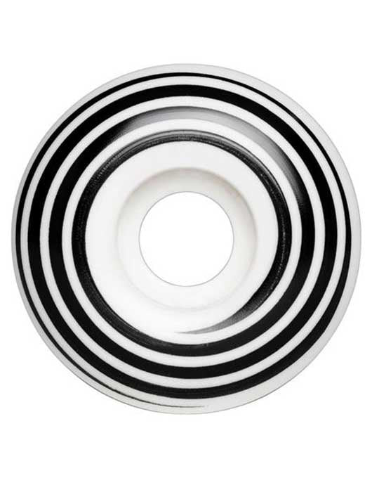 Hazard Swirl CP Radial Wheels White | 55mm/101a