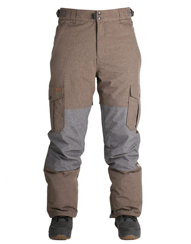 Ride Phinney Shell Snowboard Pant | Brown Melange