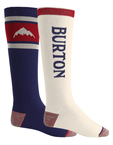 Burton Men's Weekend Midweight Sock 2 Pack | Mood Indigo