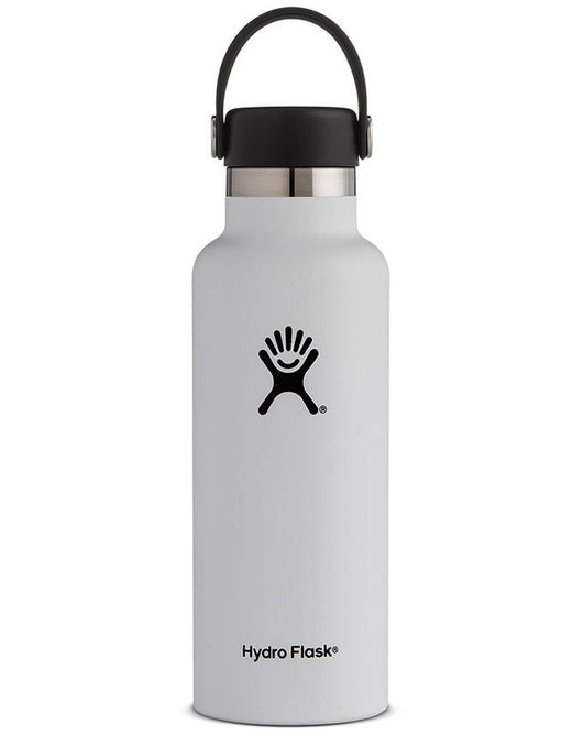 Hydro Flask 18oz Standard Mouth White