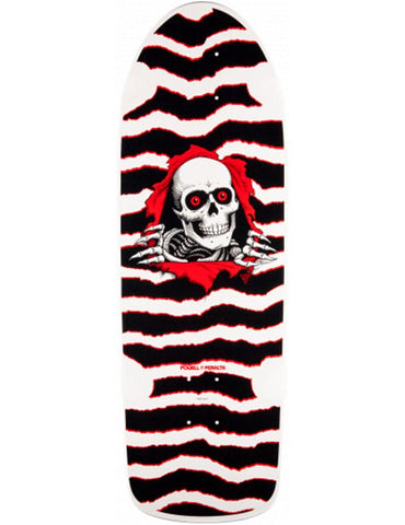 Powell Peralta OG Ripper Deck White/Red | 10.0""