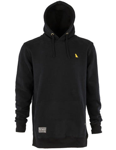 Yuki Threads Old Mate Reg Fit Hoodie 2019 | Black