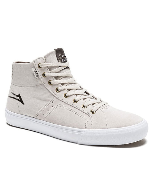 Lakai Flaco High Shoe White Suede