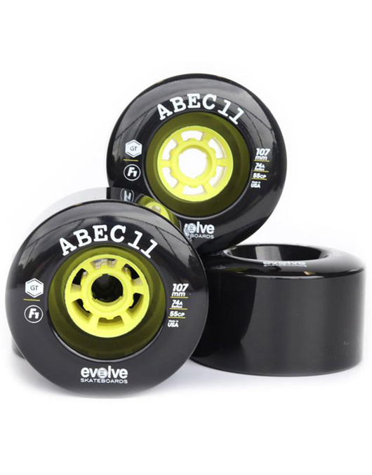 Evolve x Abec 11 F1 107mm/74a | Black
