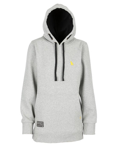 Yuki Threads Old Mate Slim Fit Hoodie 2019 | Heather Grey
