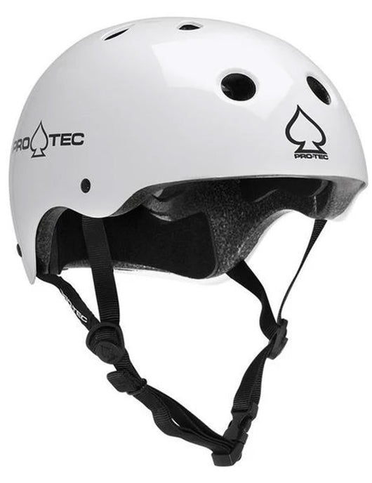 ProTec Classic Certified Helmet | Gloss White