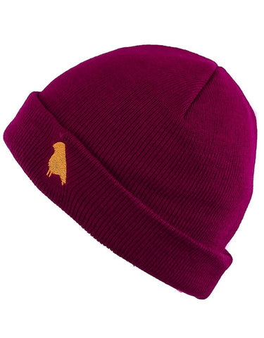 Yuki Threads Bird Beanie | Plum