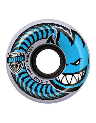 Spitfire Charger Conical Wheels Clear | 80HD/58mm