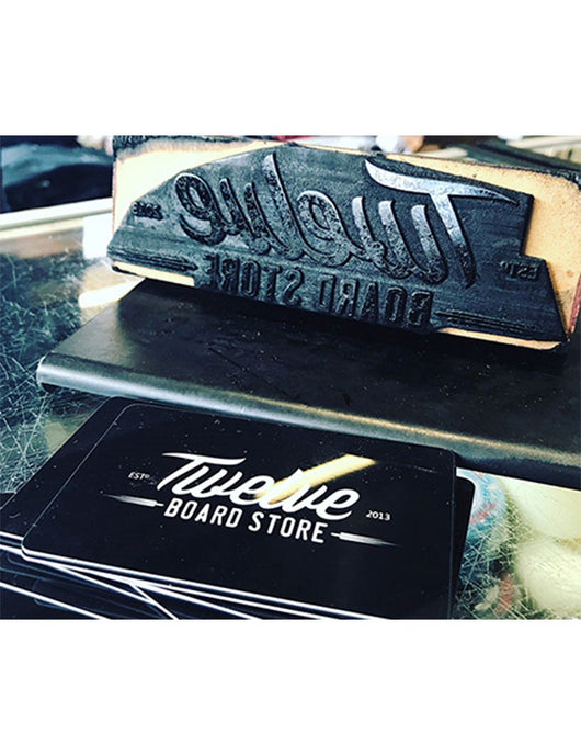 Twelve Board Store Physical Gift Card
