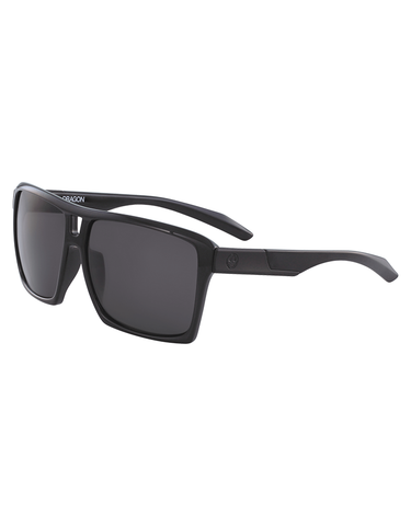 Dragon The Verse Sunglasses Shiny Black/Grey Polarized Lens