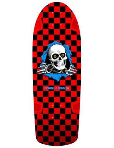 Powell Peralta OG Ripper Deck Checker Red/Black | 10""